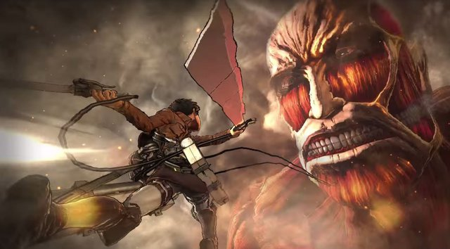 Koei Tecmo annuncia Attack on Titan 2