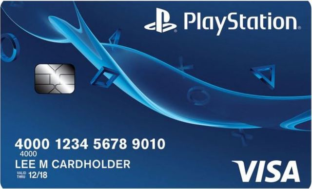 Sony introduce una nuova carta di credito PlayStation