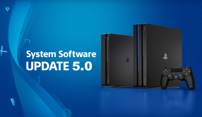 PlayStation 4, disponibile il firmware 5.00