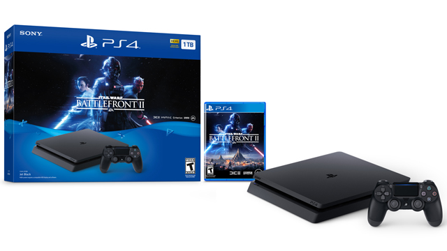 PS4 Pro - Annunciato il bundle con Star Wars Battlefront II