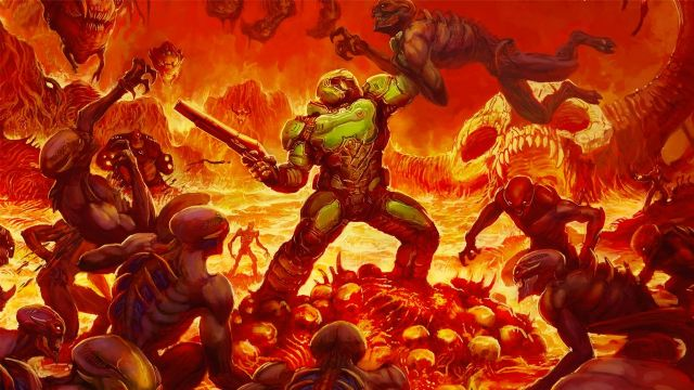 DOOM: disponibile un nuovo gameplay off-screen per la versione Nintendo Switch